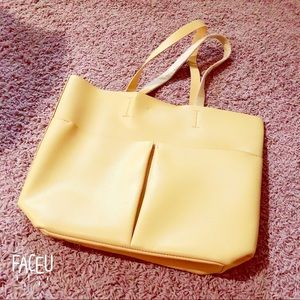 Neiman Marcus yellow bag